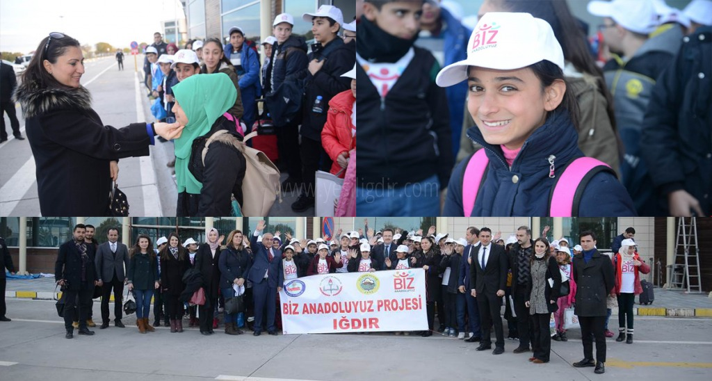 BİZ ANADOLUYUZ PROJESİ KAPSAMINDA 79 ÖĞRENCİMİZ BOLU'YA UĞURLANDI