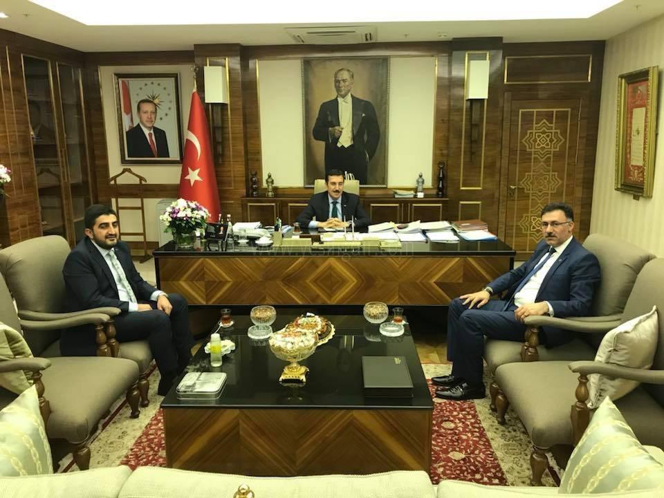 AK Parti İl Başkanı Tutulmaz Bakan Tüfenkçi'yi Ziyaret Etti