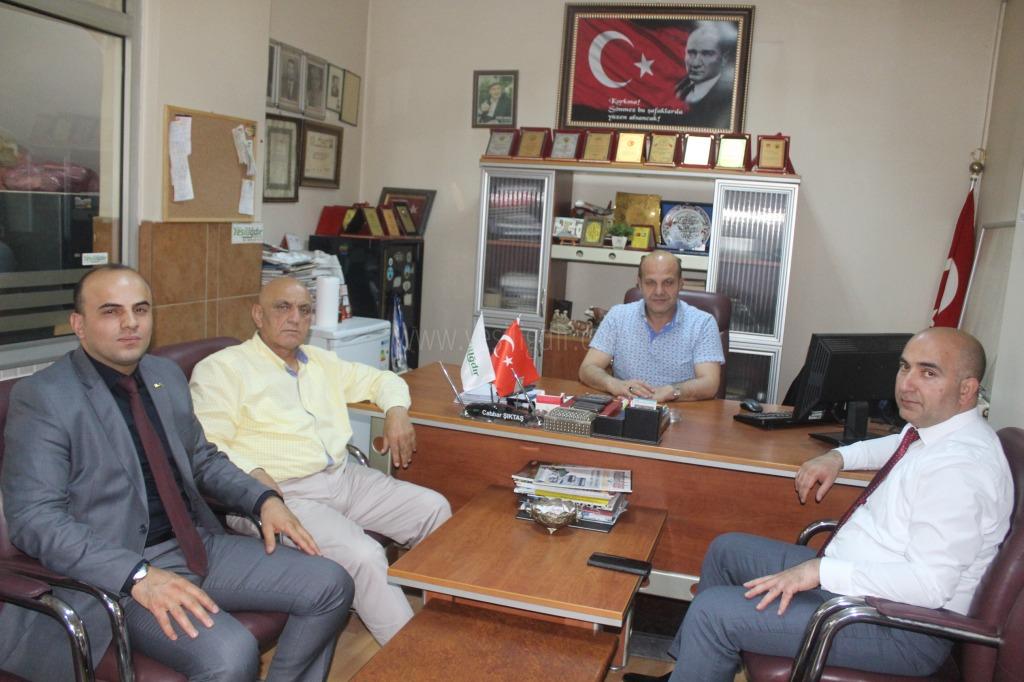 Azerbaycan Başkonsolosundan Nazik Ziyaret