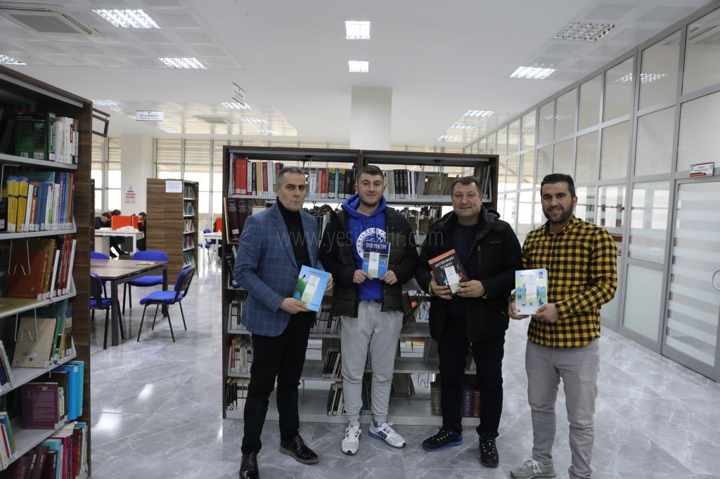 BESYO İçin Alınan Kaynak Kitaplar, Üniversite Kütüphanesindeki Yerlerini Aldı