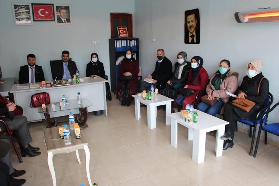 Ali Kemal Ayaz'dan  Karakoyunlu İlçesine Ziyaret