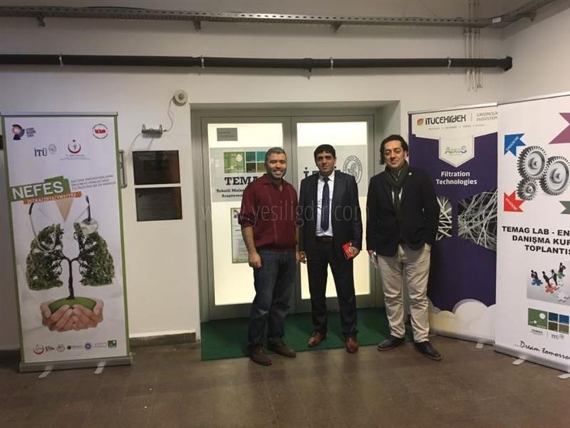 Rektör Alma İstanbul Teknik Üniversitesi'ni (İtü) Ziyaret Etti