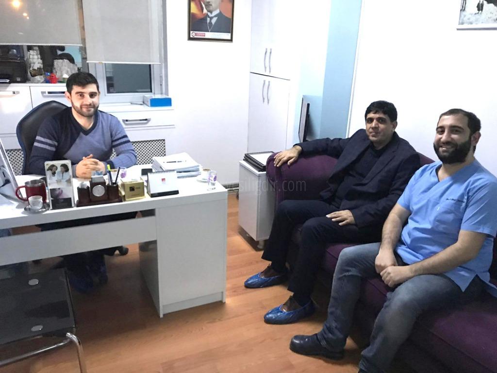Rektör Alma Özel Iğdır Ağız ve Diş Sağlığı Merkezini Ziyaret Etti