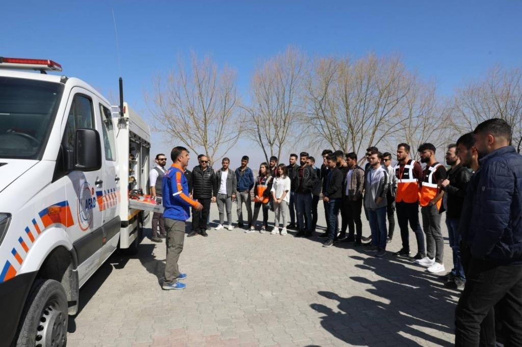 Iğdır Üniversitesi Öğrencilerine Afet Bilinci Eğitimi Verildi