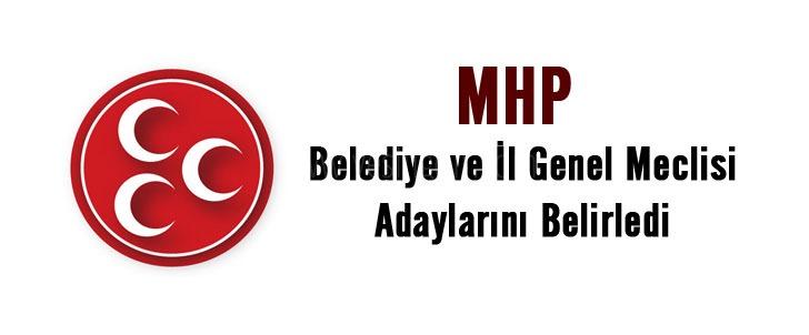 MHP İl Genel Meclisi aday listesi ve Belediye Meclis listesi açıklandı