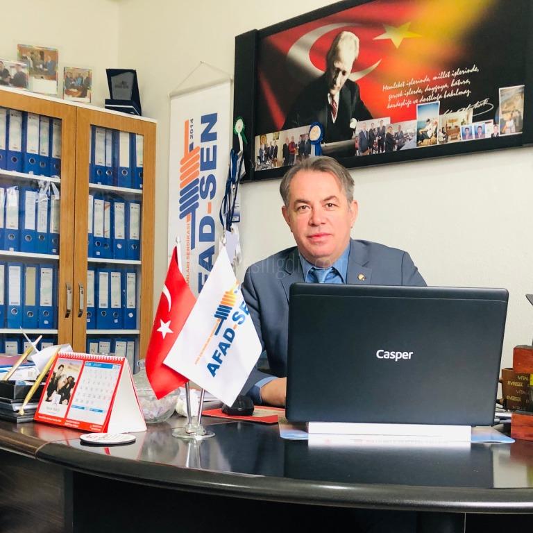 AFAD-SEN Genel Başkan Yardımcısı Mehmet ÖZTÜRK  1 Mayıs işçi bayramı nedeniyle bir mesaj yayınladı.
