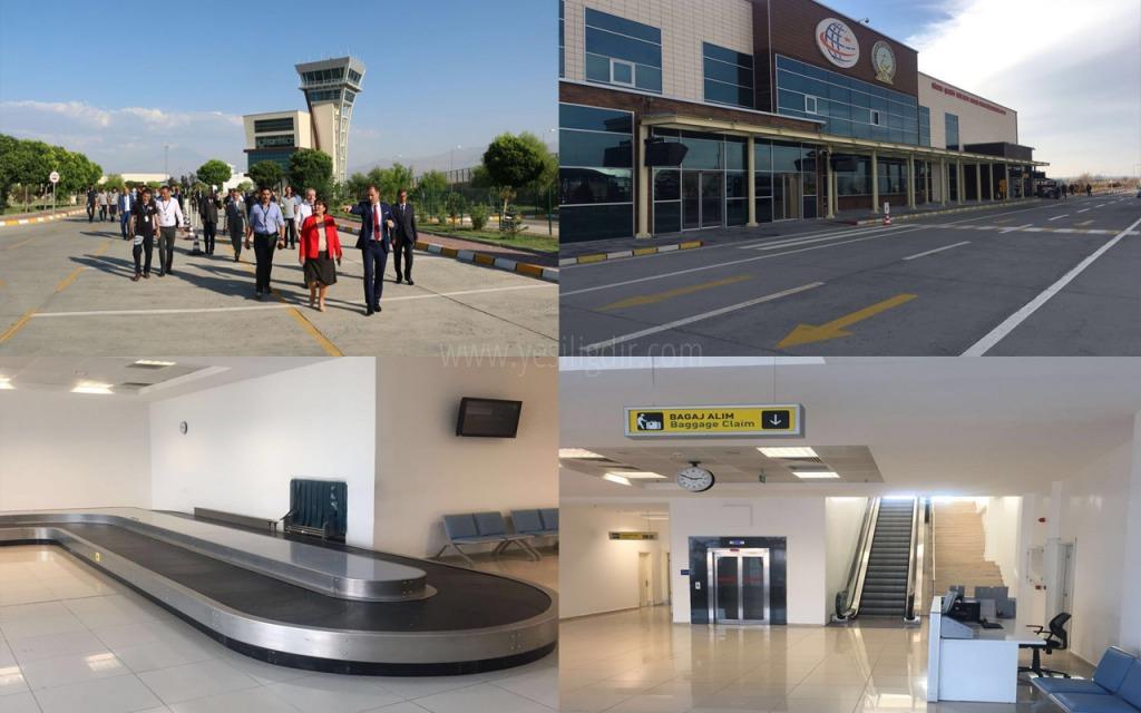 Iğdır Şehit Bülent Aydın Havalimanında  Hizmet Atağı