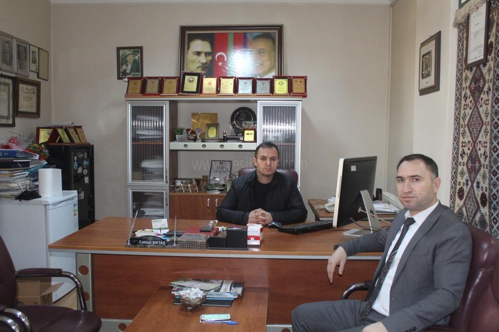 Sefer Coşar'dan 10 Ocak Çalışan Gazeteciler Günü Ziyareti