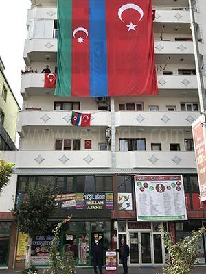 İKİ DEVLET BİR MİLLET YAŞASIN TÜRKİYE/AZERBAYCAN