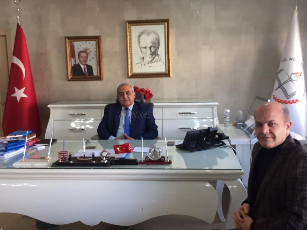 Şıktaş'tan Murat Aydoğdu'ya Nezaket Ziyaretinde Bulundu