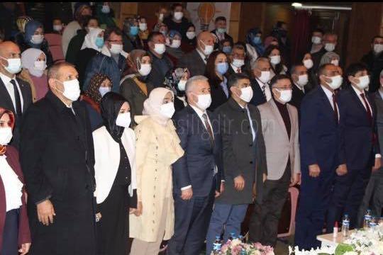 AK Parti Iğdır Kadın Kolları 6. Olağan Kongresi Yapıldı