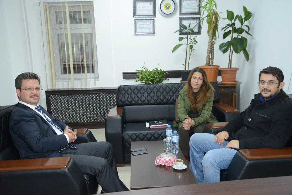 VALİ ENVER ÜNLÜ DOKTOR SERKAN YARIMOĞLU'YLA BİR ARAYA GELDİ