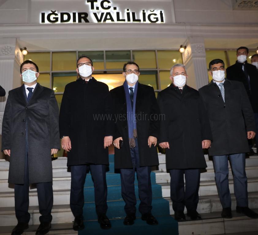 Bakan Dönmez: Nahçıvan'a 12 ayda doğal gaz hattı çekilecek