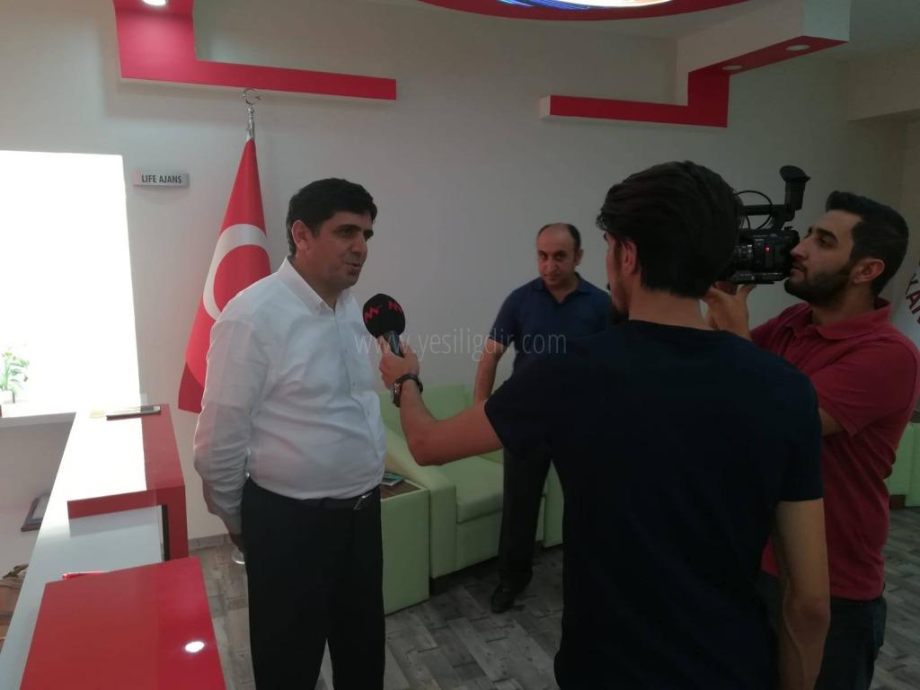 Rektör Alma, Kanal M'de Iğdır Üniversitesini Anlattı