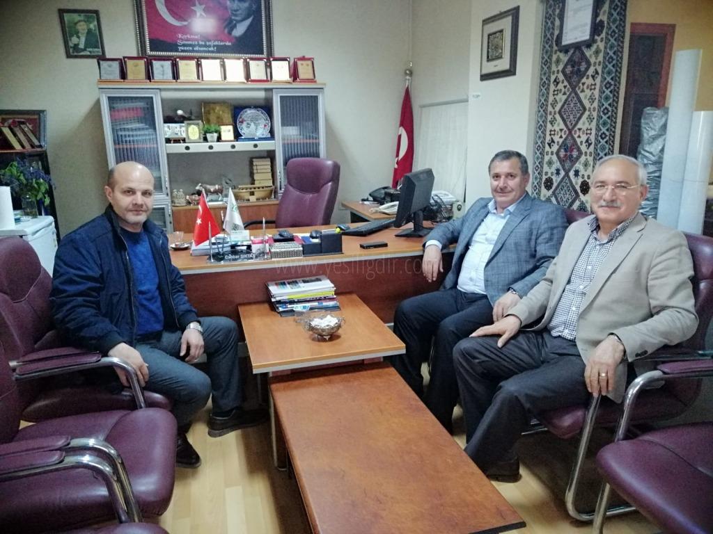 Trabzon Emniyet Müdürü Orhan Çevik'ten Nezaket Ziyareti