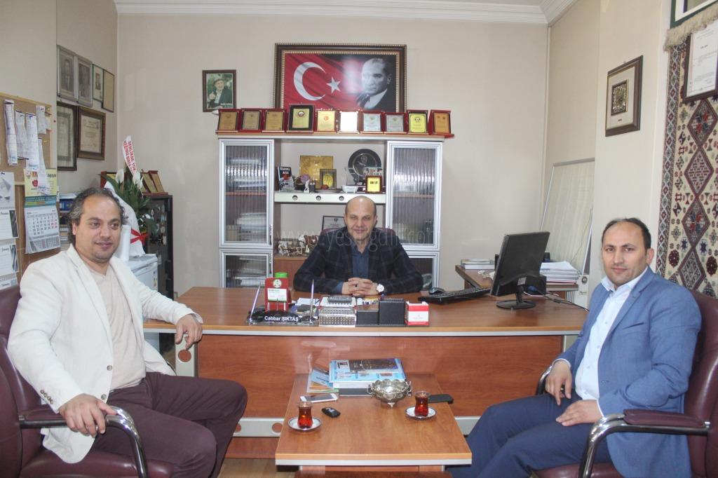 MHP Eski ve Yeni İl Başkanlarından Gazetemize Ziyaret