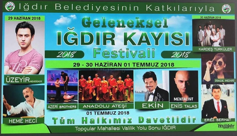 Iğdır Belediyesinin Organize Ettiği Kayısı Festivali Başlıyor
