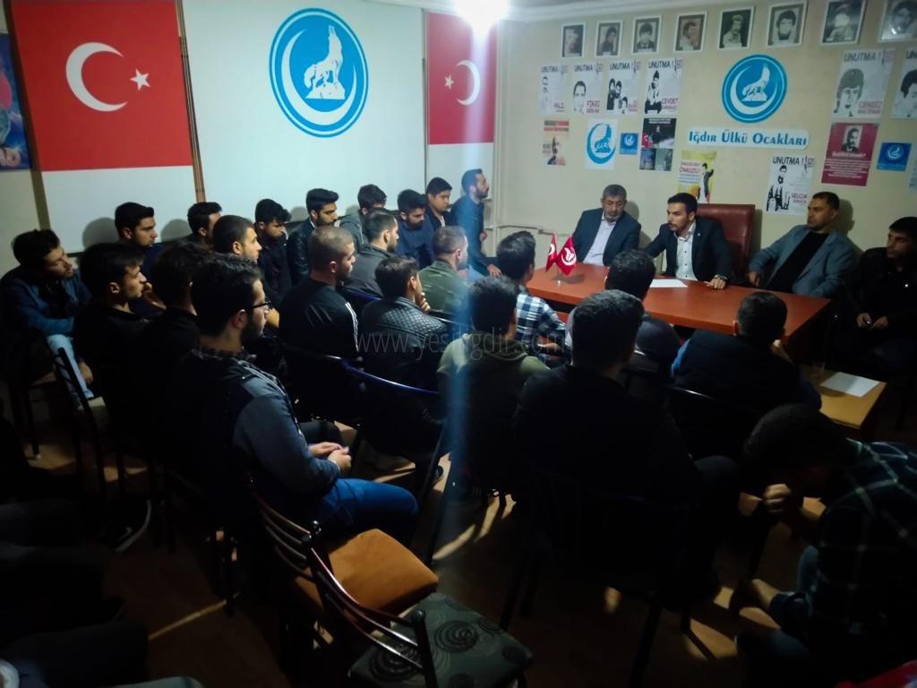 Barış Pınarı Harekatı'na  Iğdır Ülkü Ocaklarından Desdek
