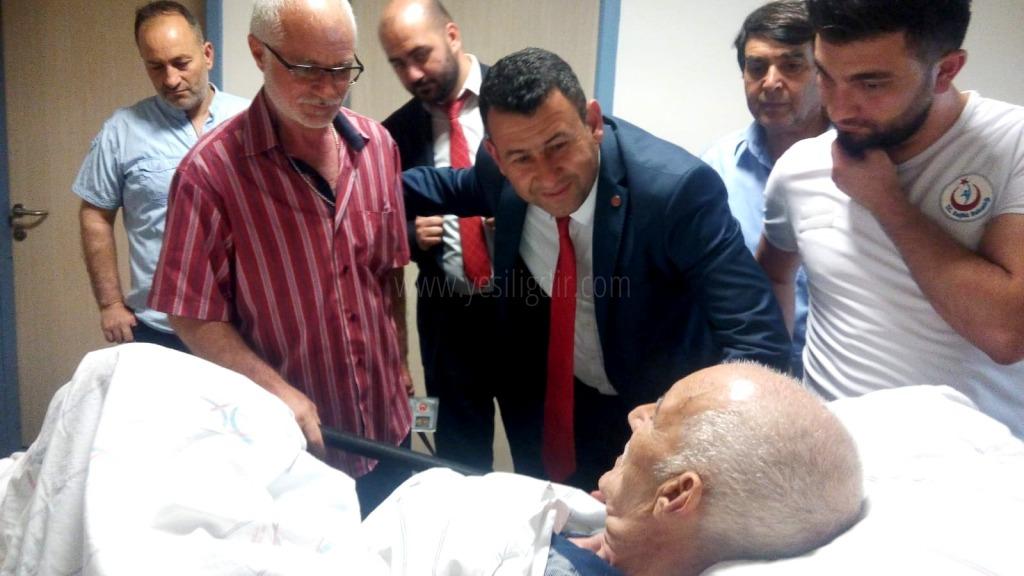 MHP ADAYLARI DEVLET HASTANESİNİ ZİYARET ETTİLER