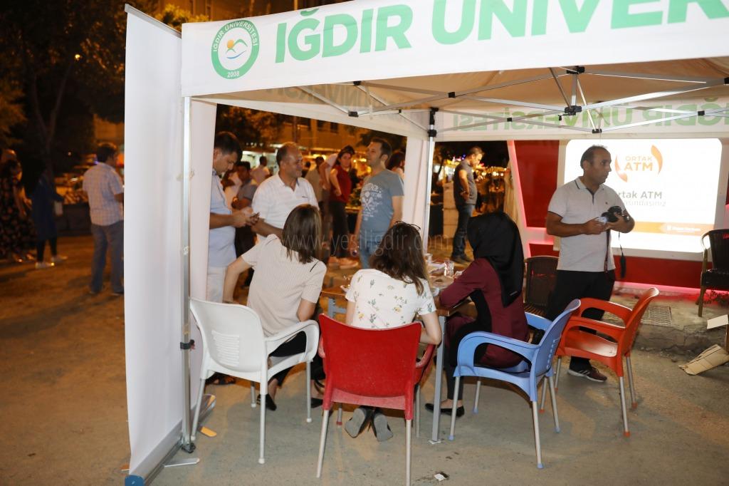 Iğdır Üniversitesi Tercih Dönemi için Tanıtım Standı Kurdu