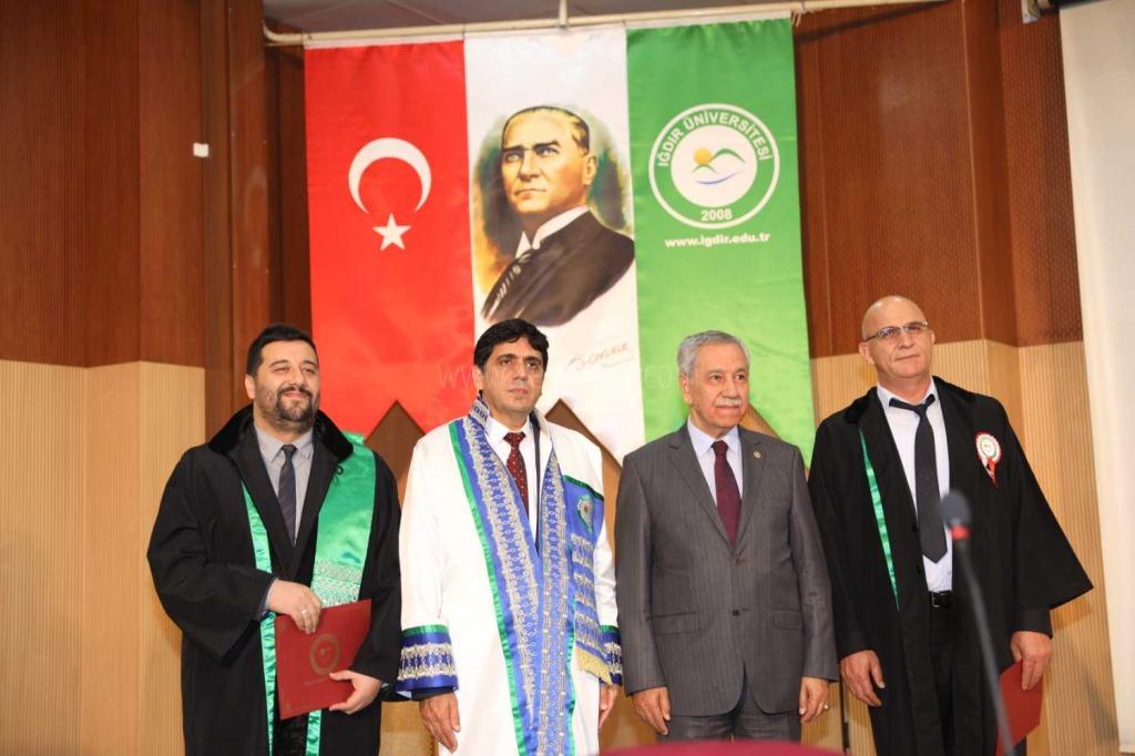 Iğdır Üniversitesin'de 2019-2020 Akademik Yılı Açılış Töreni Düzenlendi