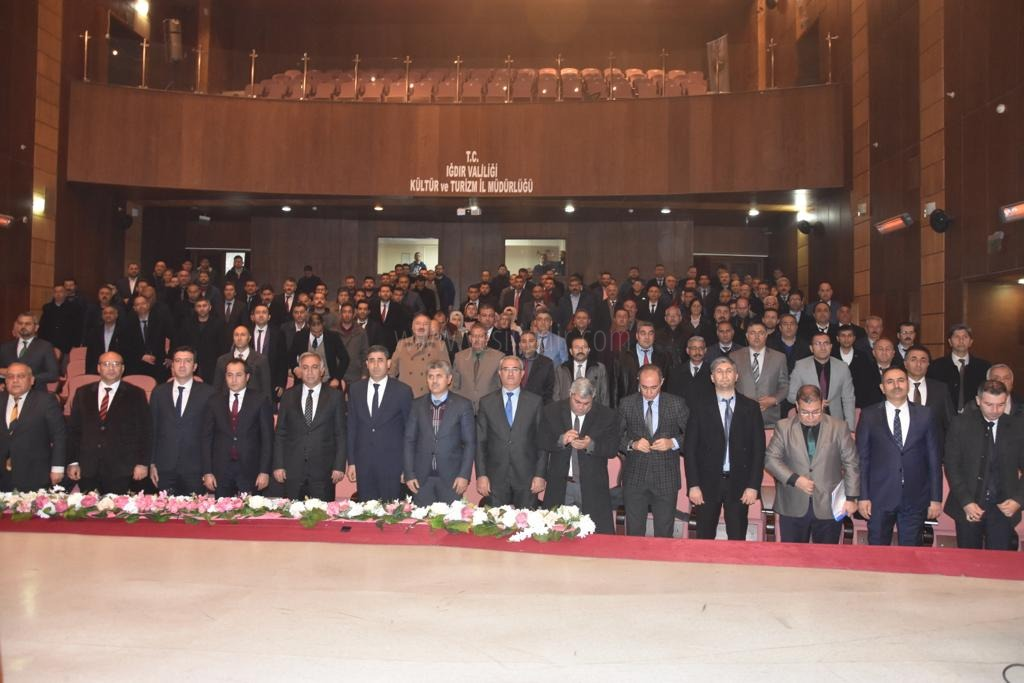 İl Milli Eğitim Müdürlüğü MEM Yöneticileri ve Okul Müdürleri ile Bilgilendirme Toplantısı Yaptı