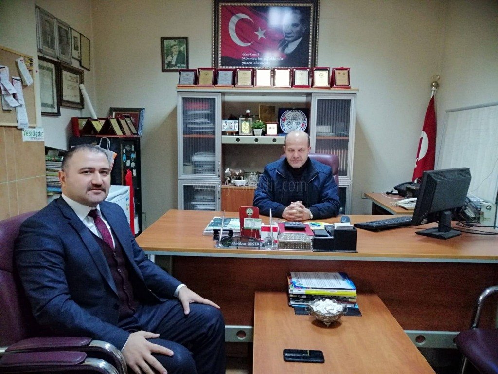 Eray Coşar'dan Nezaket Ziyareti