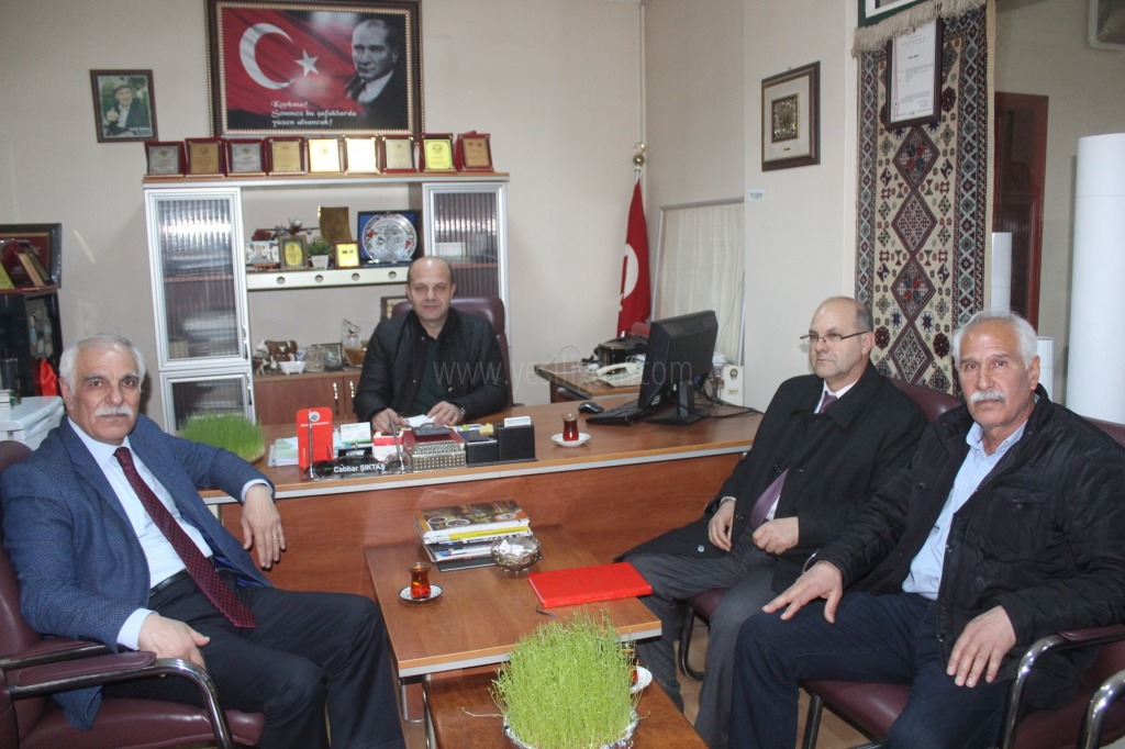 Yazar Servet Gürcan'dan Nezaket Ziyareti