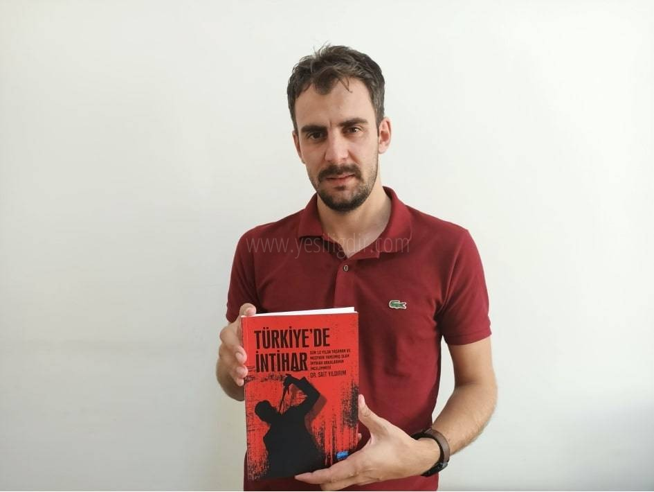 Iğdır Üniversitesi Öğr. Üyesi Sait Yıldırım, 749 intihar vakasını inceledi kitap haline getirdi
