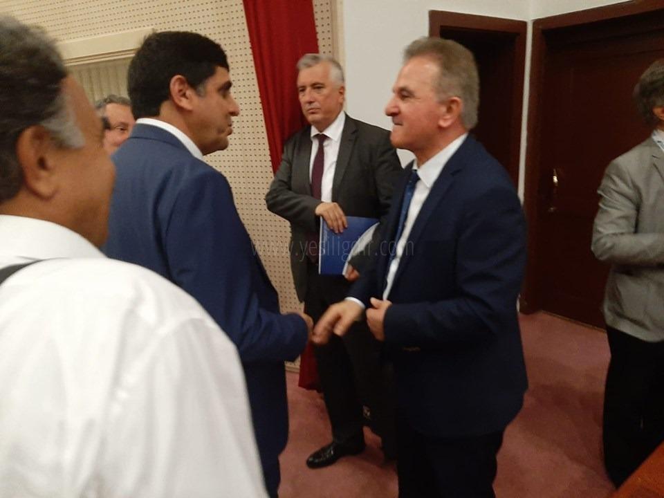 Rektör Alma YÖKAK'ta 'Yükseköğretim Kurumlarında Kalite' Toplantısına Katıldı