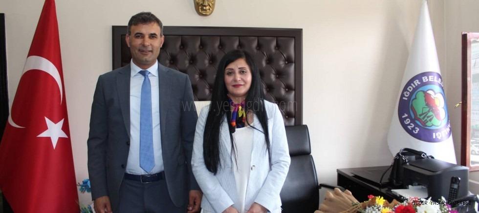 Iğdır Belediye Eş Başkanları Yaşar AKKUŞ  ve   Eylem ÇELİK'ten Kurban Bayramı Mesajı
