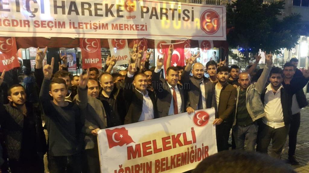 MELEKLİ HALKINDAN MHP'YE  BÜYÜK DESTEK