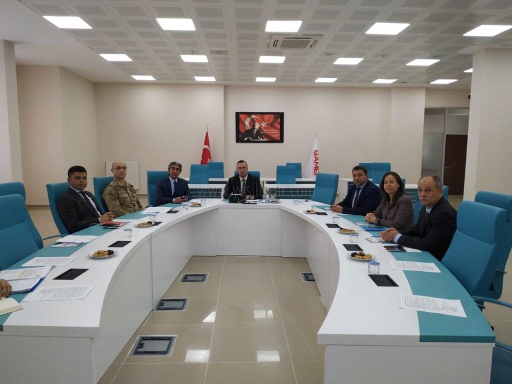 Vali Yardımcısı Yunus Koç Başkanlığında İzleme, Değerlendirme Ve Koordinasyon Kurulu Toplantısı Yapıldı