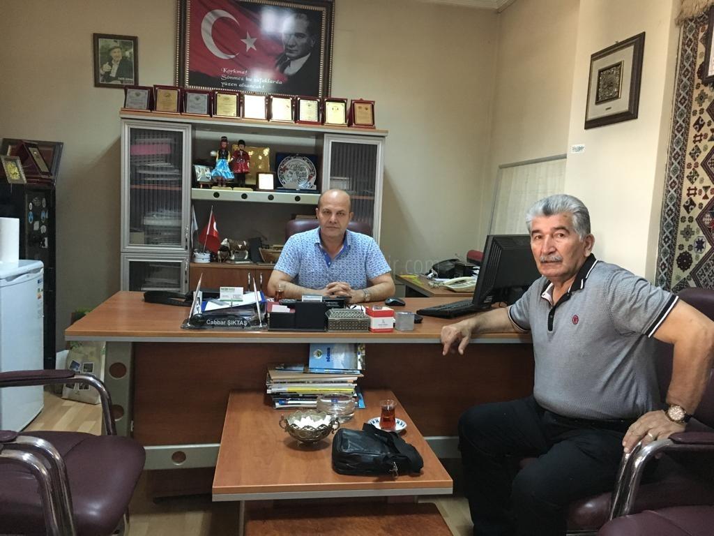 Kanaat Önderi Artantaş'tan Nezaket Ziyareti