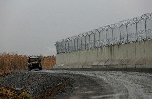 Türkiye-İran sınırına güvenlik duvarı