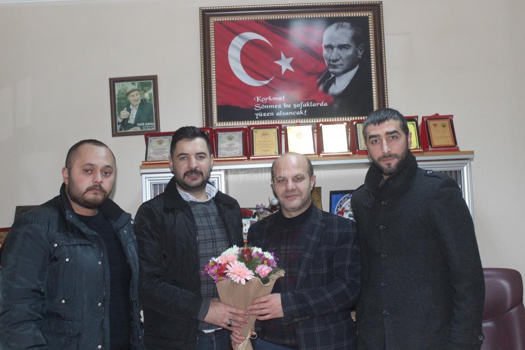 Ülkü Ocakları Gazeteciler Günümüzü Kutladı