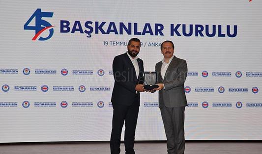Eğitim-Bir-Sen Iğdır Şubesi Türkiye 1.si Oldu.