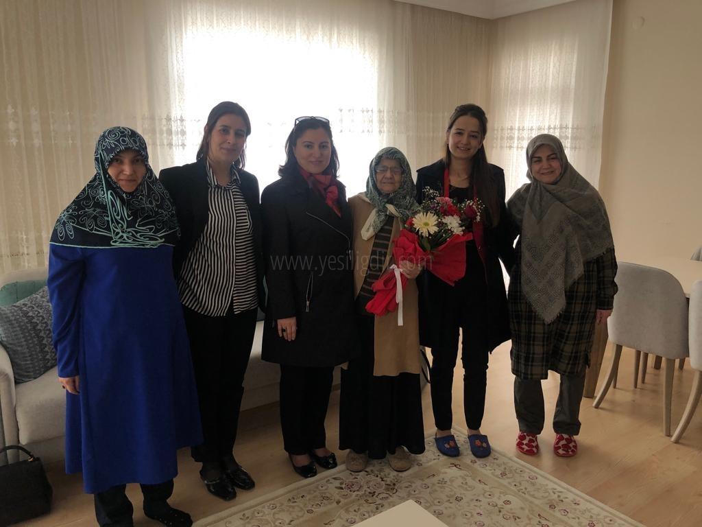 Sema Ünlü'den Yaşlılar Haftası Ziyareti