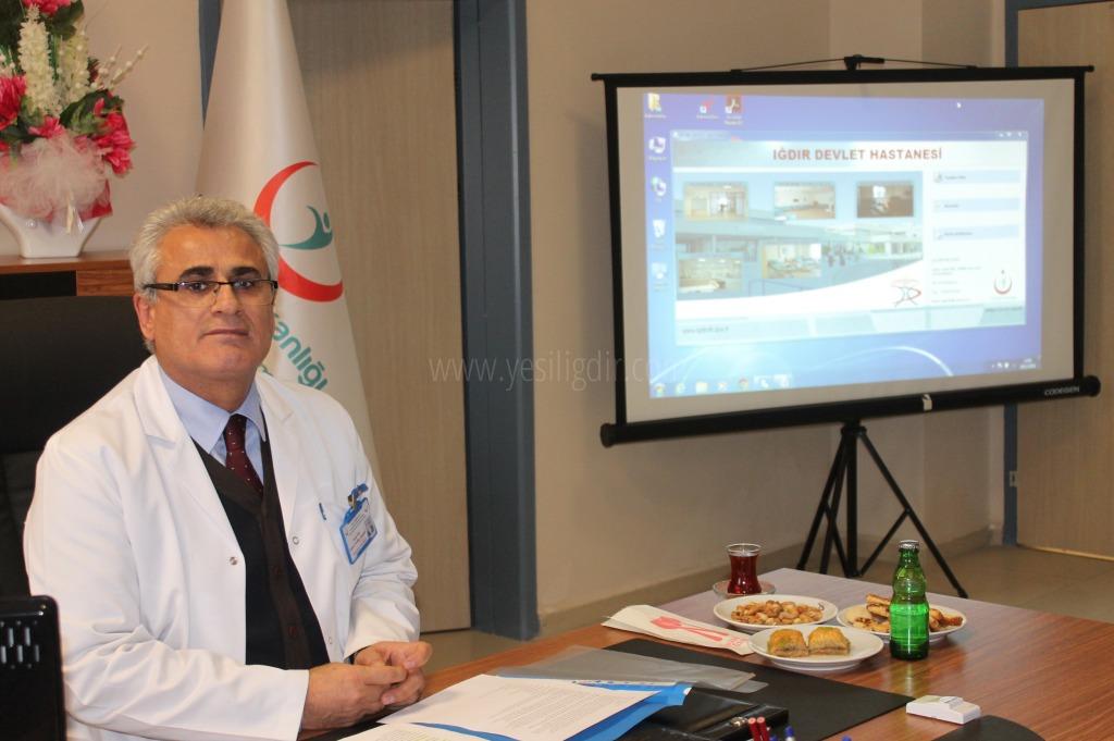 Iğdır Devlet Hastahanesi Başhekimi Erez, 2016 Yılı İçerisindeki istatistki verileri açıkladı