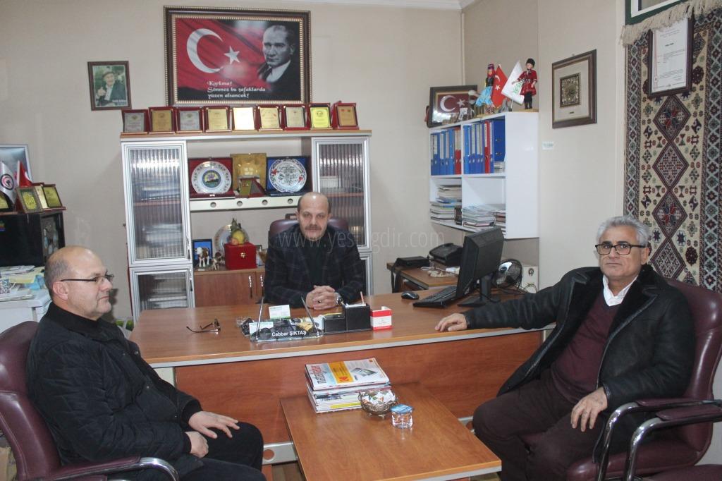 İl Sağlık Müdürü Erez'den İadeyi Ziyaret