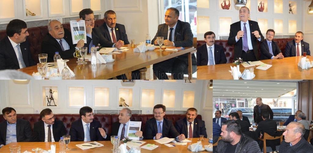 Tarım Bakanı İle yerinde bir toplantı
