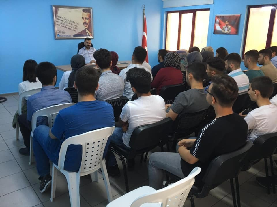Bağcılar Ülkü Ocaklar'ına Avukatlık Semineri Verildi