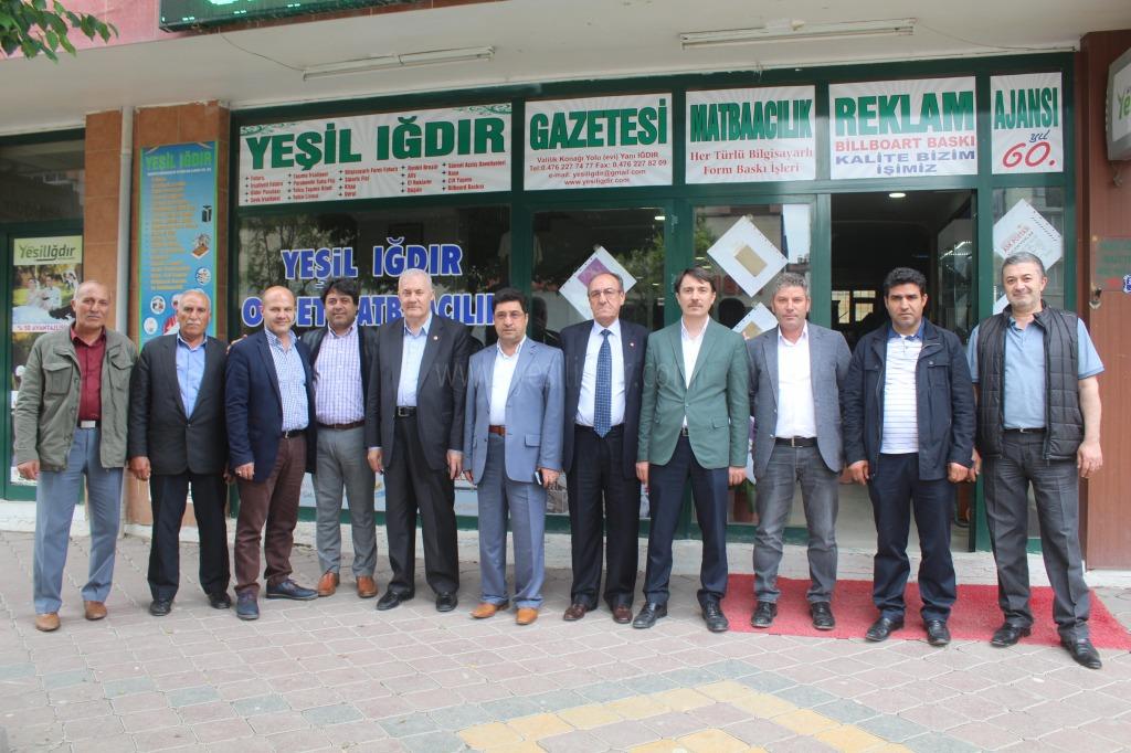 Saadet Partisi Milletvekili Adayları Güner ve Koşik'ten Gazetemize Ziyaret