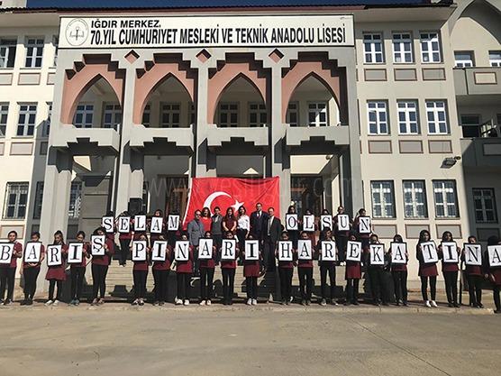 ÖĞRENCİLERDEN MEHMETCİĞE SELAM..