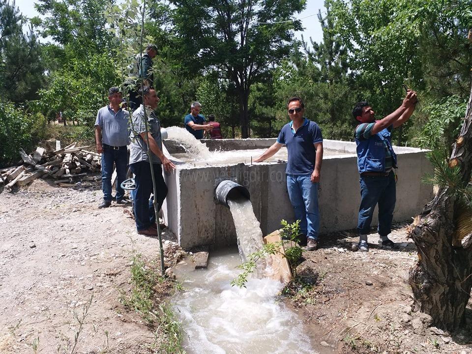 Iğdır Ken Ormanının Sulama Kapasitesi Artırıldı
