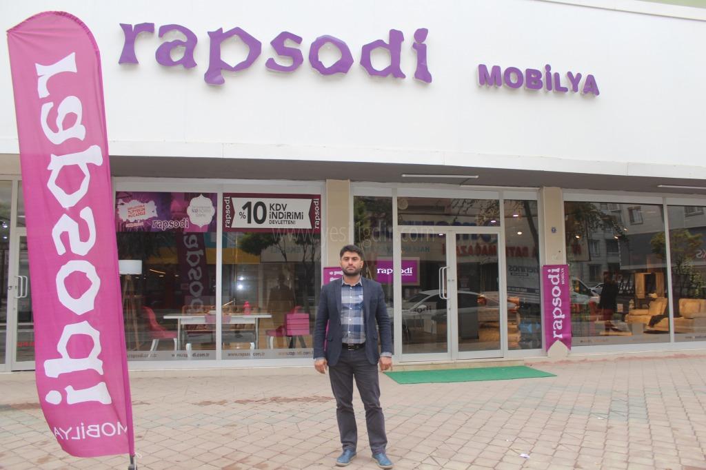 Rapsodi Mobilya Hizmete Açılıyor