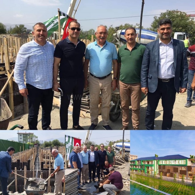 Alagöz Holding'den Iğdır Spor'a 5 Yıldızlı Tesis