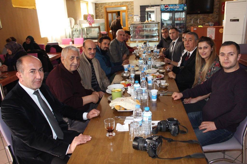 Sefer Coşar, Yerel ve Ulusal Basınla Yemekte Bir araya Geldi