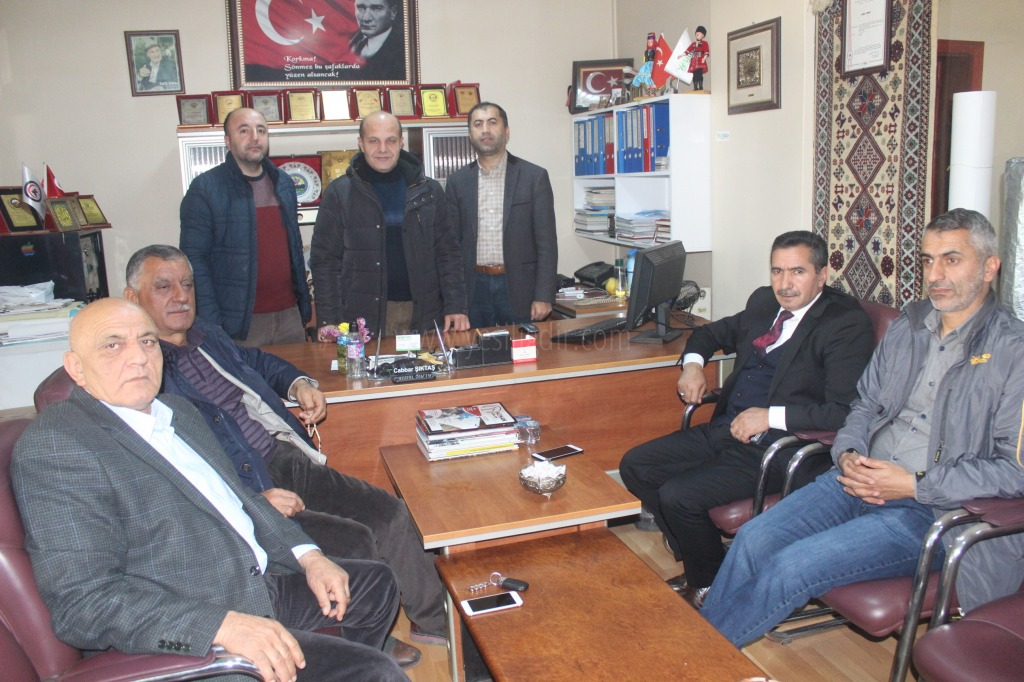 Başkanlar'dan Gazetemize Ziyaret