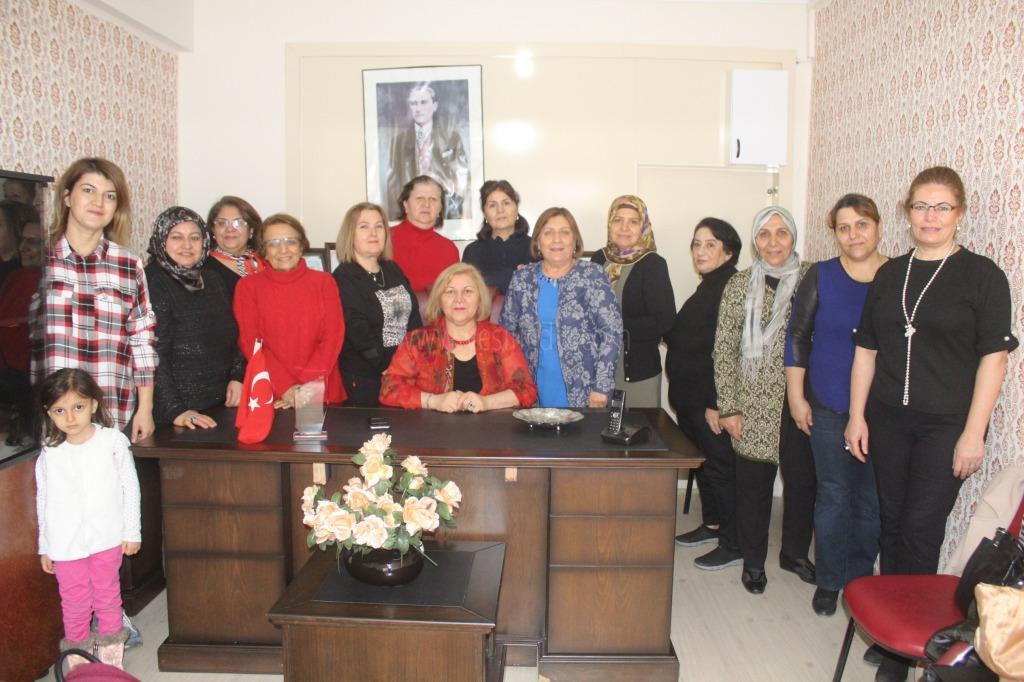Türk Kadınlar Birliği Derneği Iğdır Şubesi  Yeni Binasına Taşındı.
